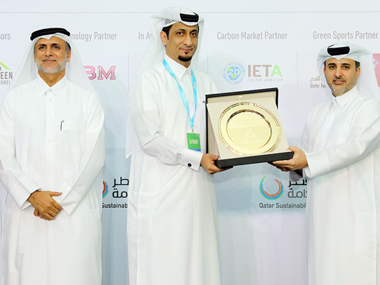 Conferred with a Sustainability Award, Qatar Rail has been recognized for exceeding GSAS requirement of 4-Stars.