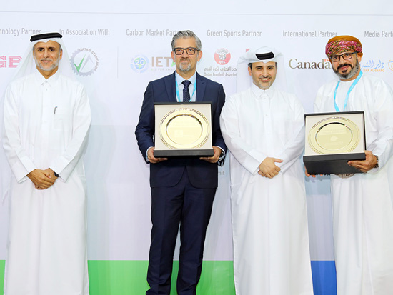 PDO and BAUER Nimr LLC are being conferred with the Award for Excellence in Climate Action.